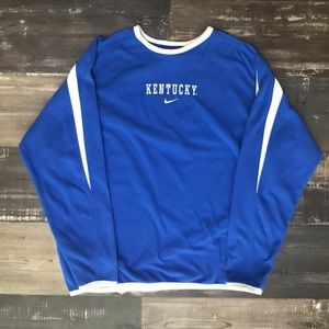 🔥Vintage Nike long sleeve Kentucky Fleece